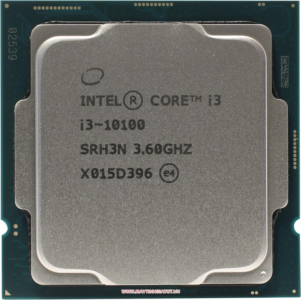 CPU Intel Core i3-10100 Tray (6M Cache, 3.60 GHz up to 4.30 GHz, 4 Nhân 8 Luồng